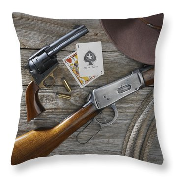 Tools Of The Trade Throw Pillow by Jerry McElroy