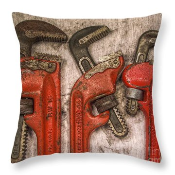 Tools Of The Trade Still Life Throw Pillow