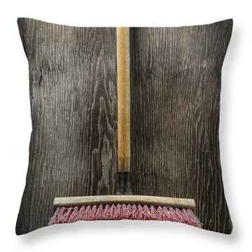 Tools On Wood 14 Throw Pillow