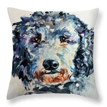 Toots Throw Pillow