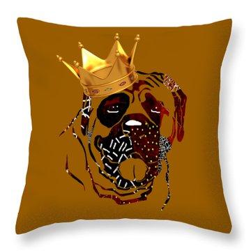 Top Dog Throw Pillow