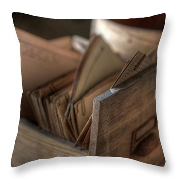 Throw Pillow featuring the digital art Top Draw by Nathan Wright