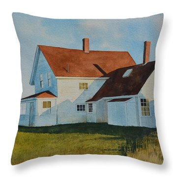 Top Of Monhegan Throw Pillow