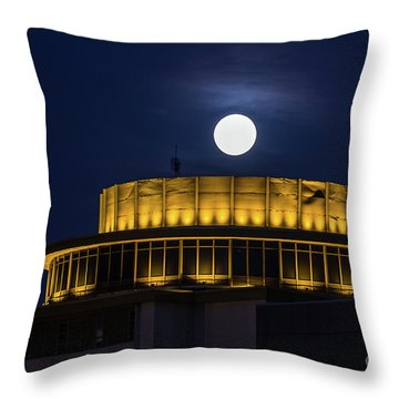 Top Of The Capstone Throw Pillow