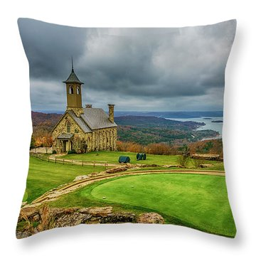 Top Of The Rock Branson Mo 7r2_dsc2627_16-11-25 Throw Pillow