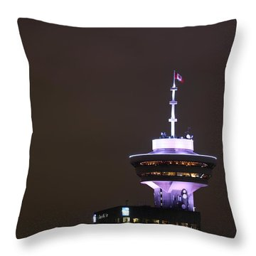 Top Of Vancouver Restaurant Throw Pillow