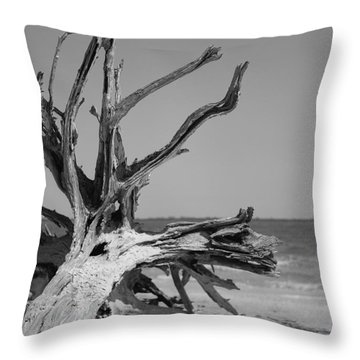 Toppled Tree Throw Pillow
