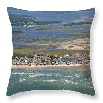 Topsail Island Migratory Model Throw Pillow
