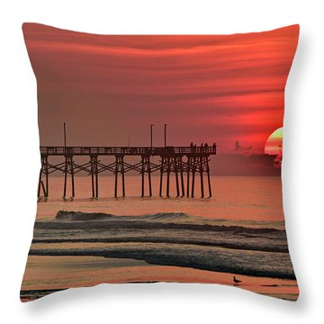 Topsail Moment Throw Pillow