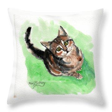 Torbie 2 Throw Pillow