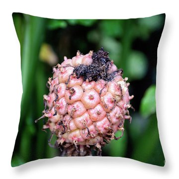 Torch Lily Throw Pillow