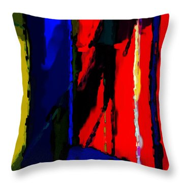 Torment Throw Pillow by Richard Rizzo