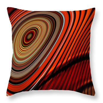 Tormented Eye Throw Pillow