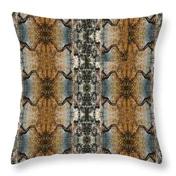 Tornado Pattern Throw Pillow