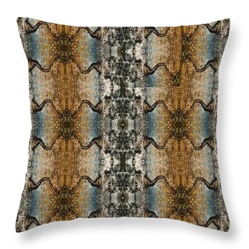Tornado Pattern Throw Pillow