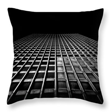 Toronto Dominion Centre No 100 Wellington St W Throw Pillow by Brian Carson