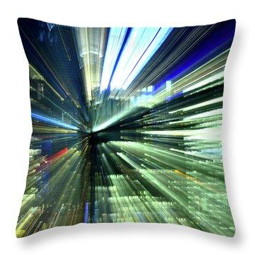 Toronto Light Zoom Throw Pillow
