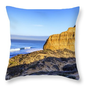 Torrey Pines Morning Throw Pillow