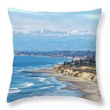 Torrey Pines Throw Pillow