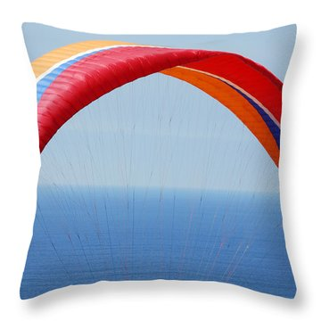 Torrie Pines Breeze Throw Pillow by Bill Dutting