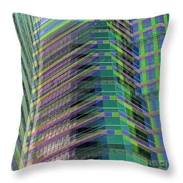 Abstract Angles Throw Pillow