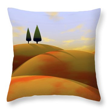 Toscana 1 Throw Pillow