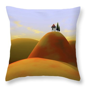 Toscana 2 Throw Pillow
