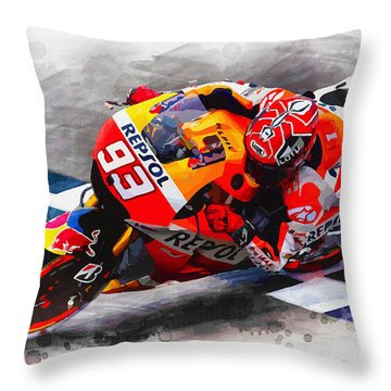 Total Domination Throw Pillow