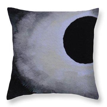 Total Solar Eclipse Throw Pillow