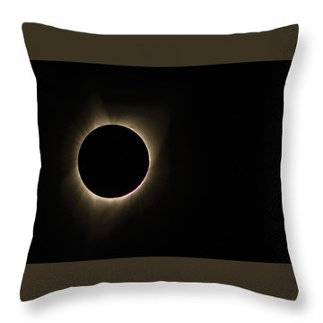 Totality Throw Pillow by Joe Hudspeth