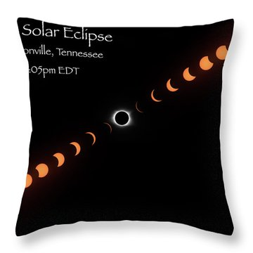 Totality Throw Pillow