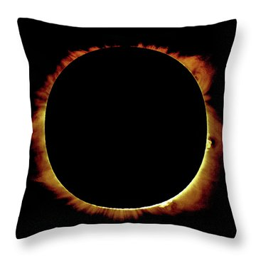 Totality Over Processed Throw Pillow