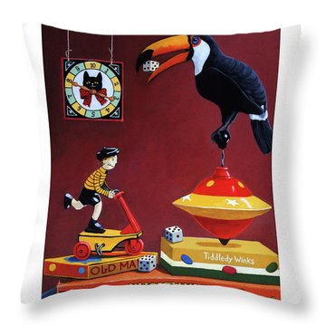 Toucan Play At This Game Throw Pillow