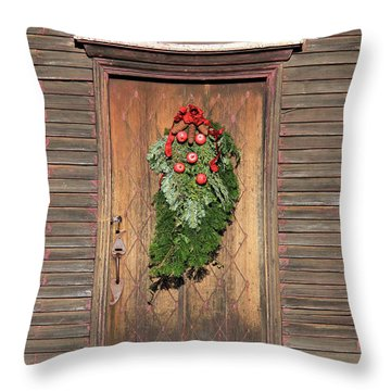 Touch Of Christmas Throw Pillow