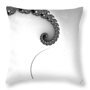 Touch Of Grace Throw Pillow