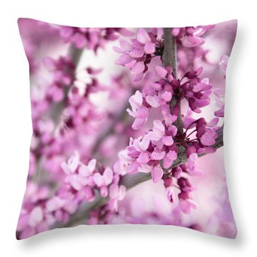 Touch Of Spring II Throw Pillow