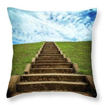 Throw Pillow featuring the photograph Touch The Sky by Alan Raasch