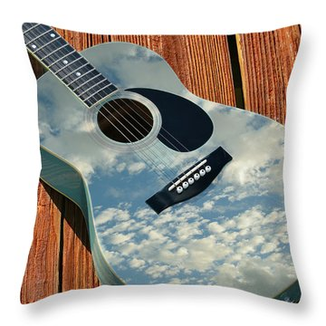 Throw Pillow featuring the photograph Touch The Sky by Laura Fasulo
