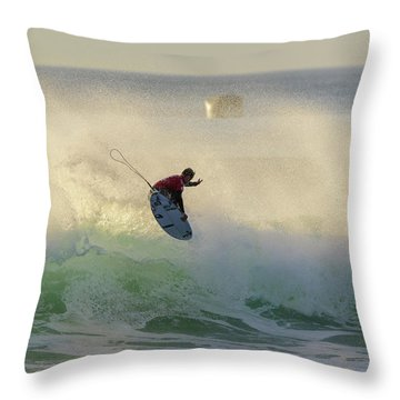 Touch The Sun Throw Pillow