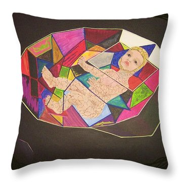 Touching A Memory Throw Pillow