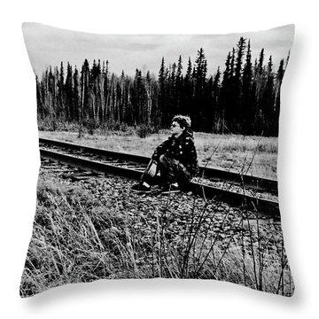 Throw Pillow featuring the photograph Tough Times by Tara Lynn