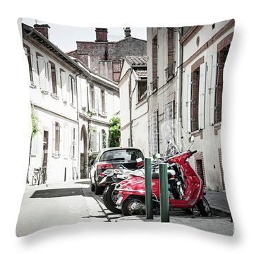 Throw Pillow featuring the photograph Toulouse Street by Elena Elisseeva