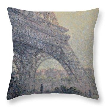 Paris , Tour De Eiffel  Throw Pillow