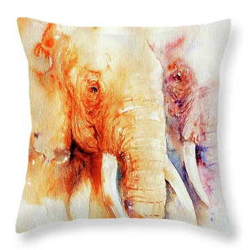 Tow Of A Kind Throw Pillow
