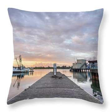 Throw Pillow featuring the photograph Toward The Dusk by Greg Nyquist
