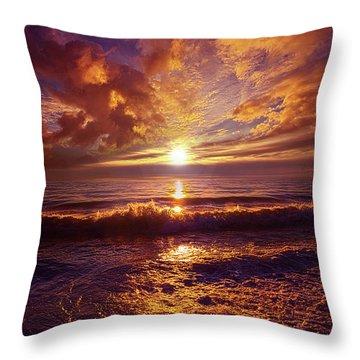 Throw Pillow featuring the photograph Toward The Far Reaches by Phil Koch