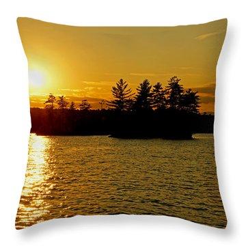 Throw Pillow featuring the photograph Towards Infinity by Lynda Lehmann