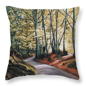 Towards The Future Throw Pillow
