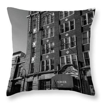 Tower 250 Throw Pillow