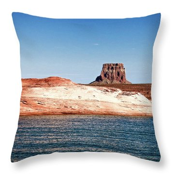 Tower Butte Throw Pillow